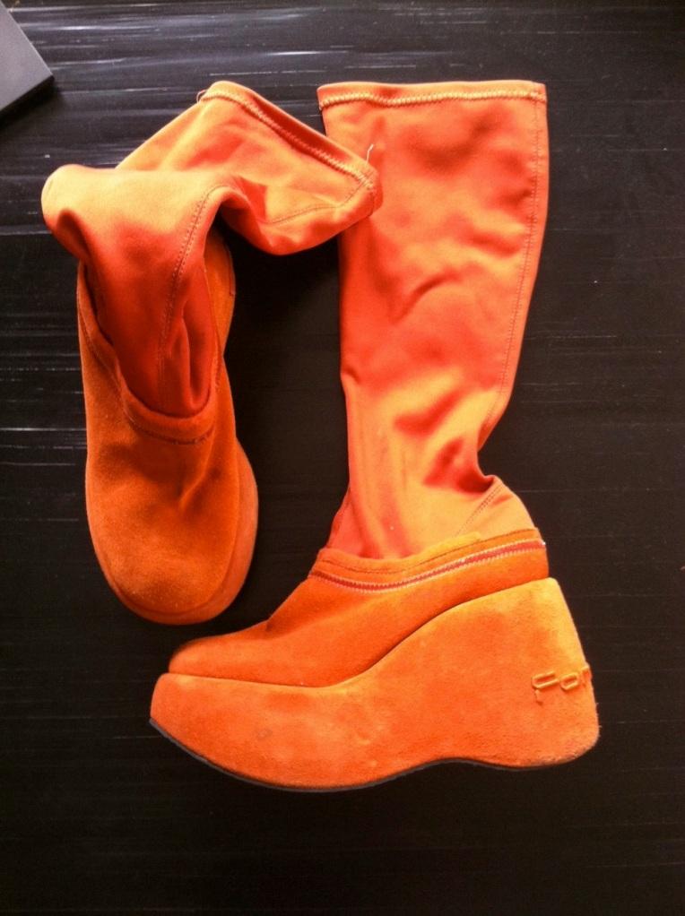 fornarina vintage boot 90s